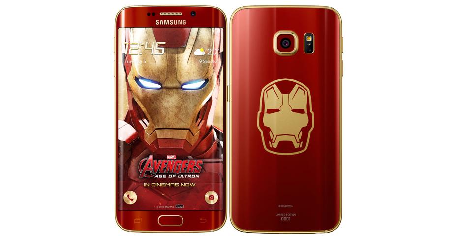 Samsung Galaxy S6 edge ironman