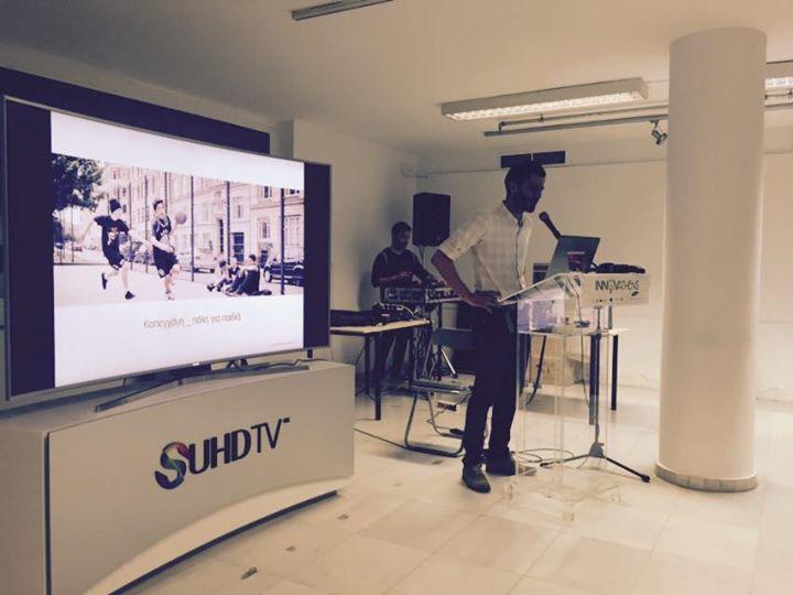 Samsung SUHD TV_Design Lab Athens
