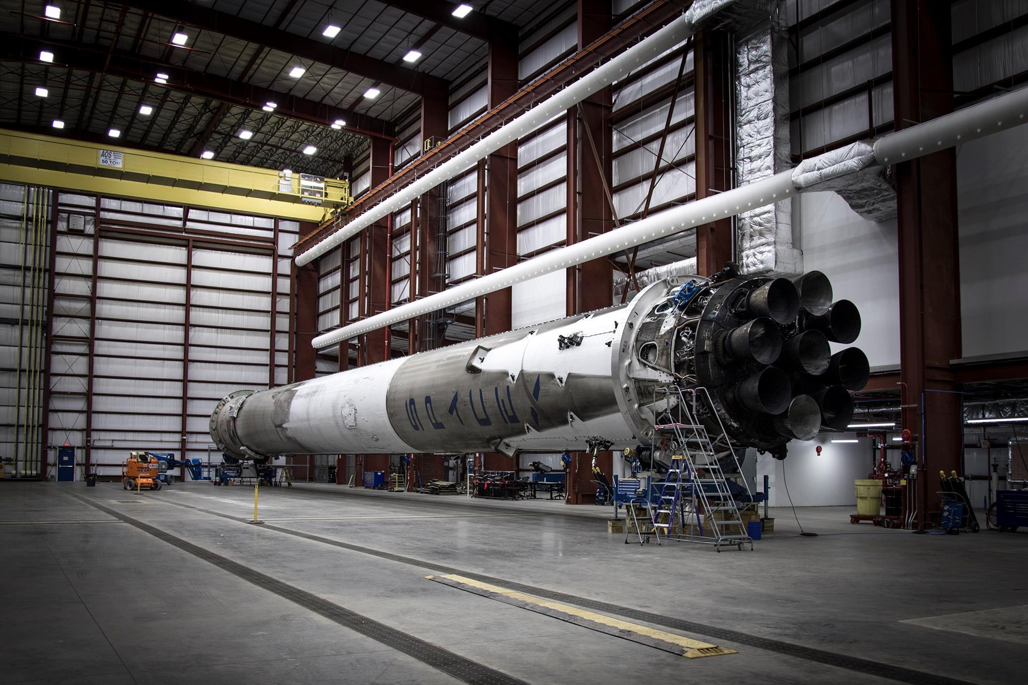 Falcon 9 Hangar