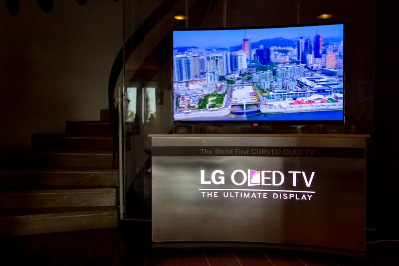 LG Technology Sponsor @Yatch Club of Greece_ LG OLED TV
