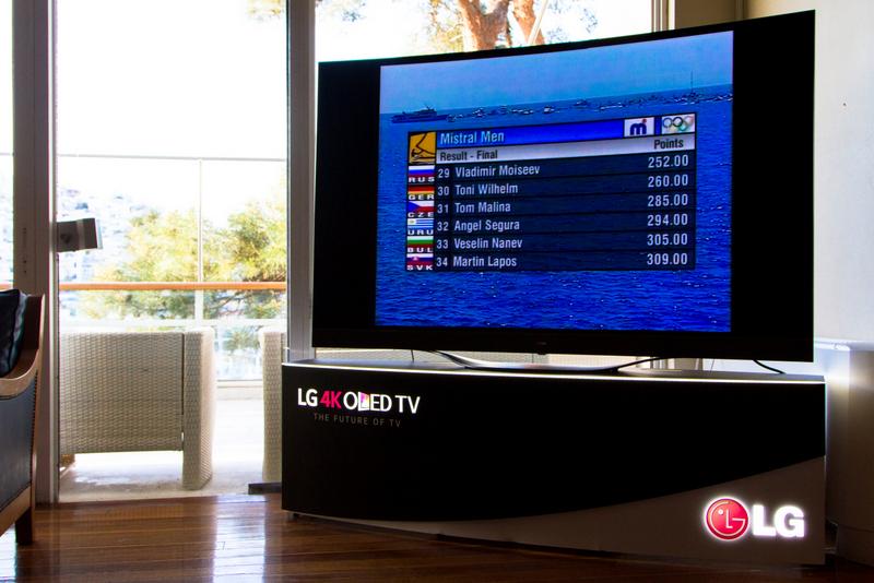 LG Technology Sponsor @Yatch Club of Greece_LG 4K OLED TV