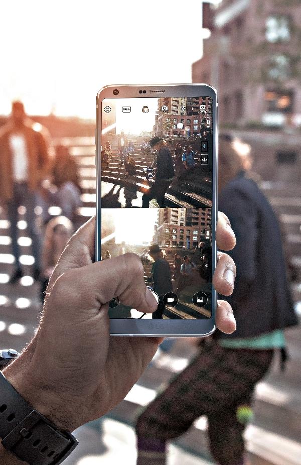 LG G6 Square Camera