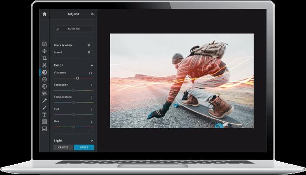 pixlr - επεξεργασία εικόνων