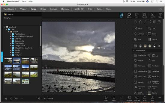 photoscap x online επεξεργασία φωτογραφιών