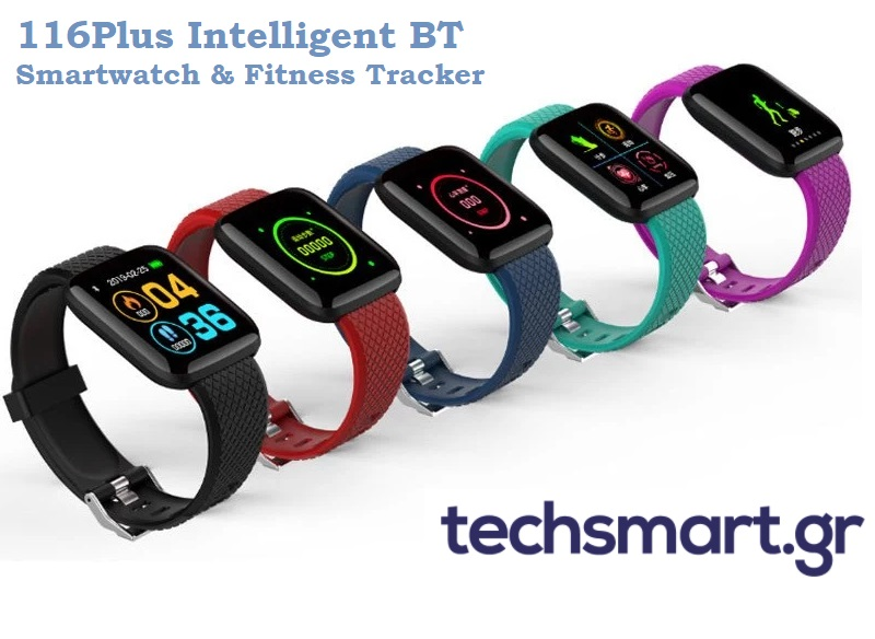 116Plus Intelligent BT - Smartwatch & Fitness Tracker